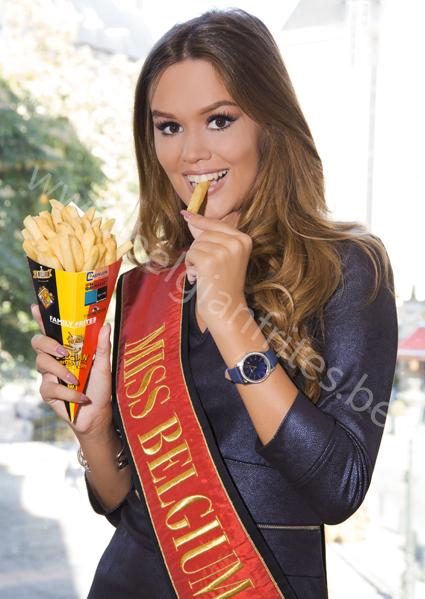 Annelies Törös: Miss Belgium 2015