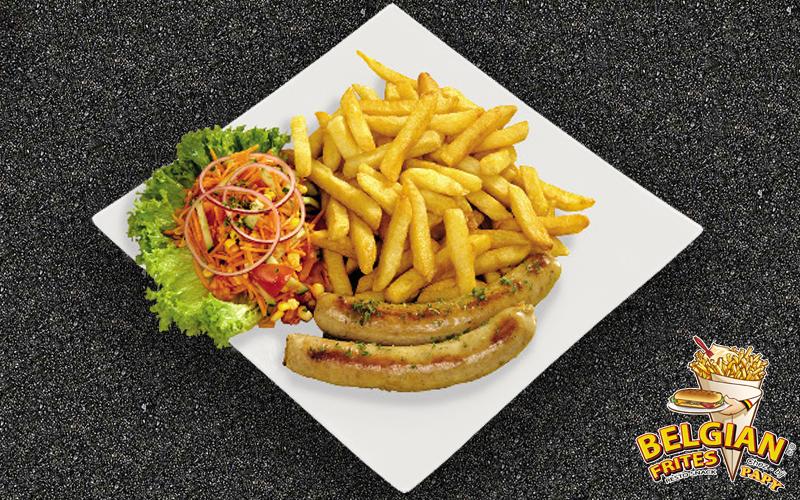 Belgian Frites - White sausage