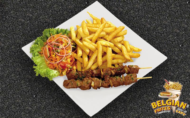Belgian Frites - Beef skewer