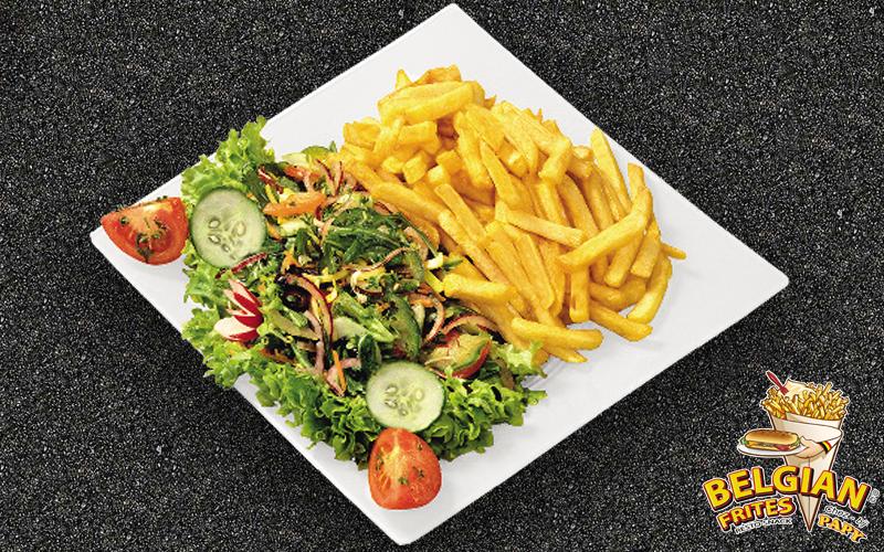 Belgian Frites - Frites & salad