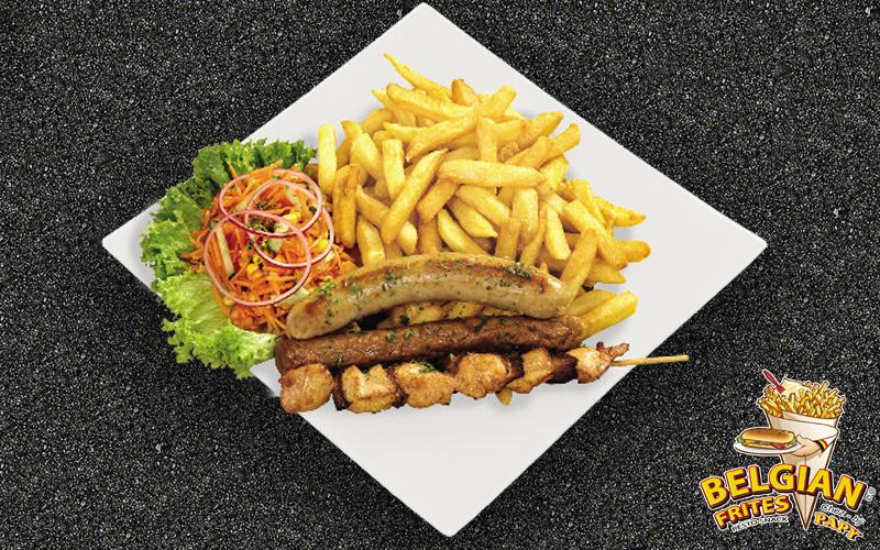Belgische frieten - Mix vlees